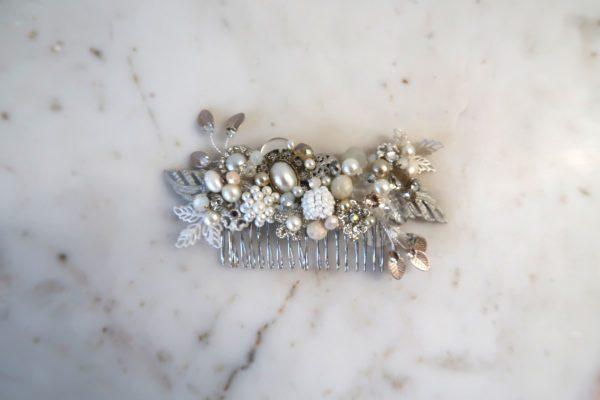 Eclectic Media Bridal Comb