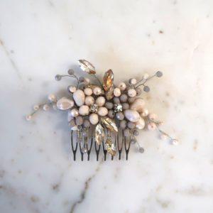 Small Blush Lavender Comb