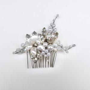 Opalescent Pearl Bridal Comb