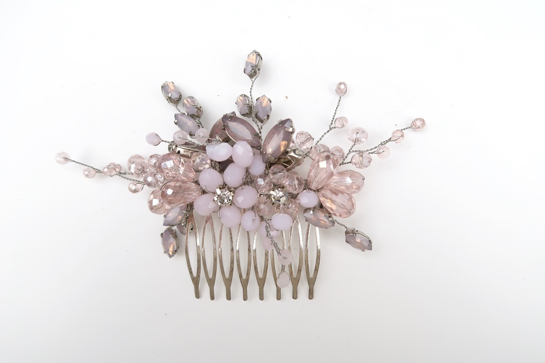 Blush Pink Hair Comb