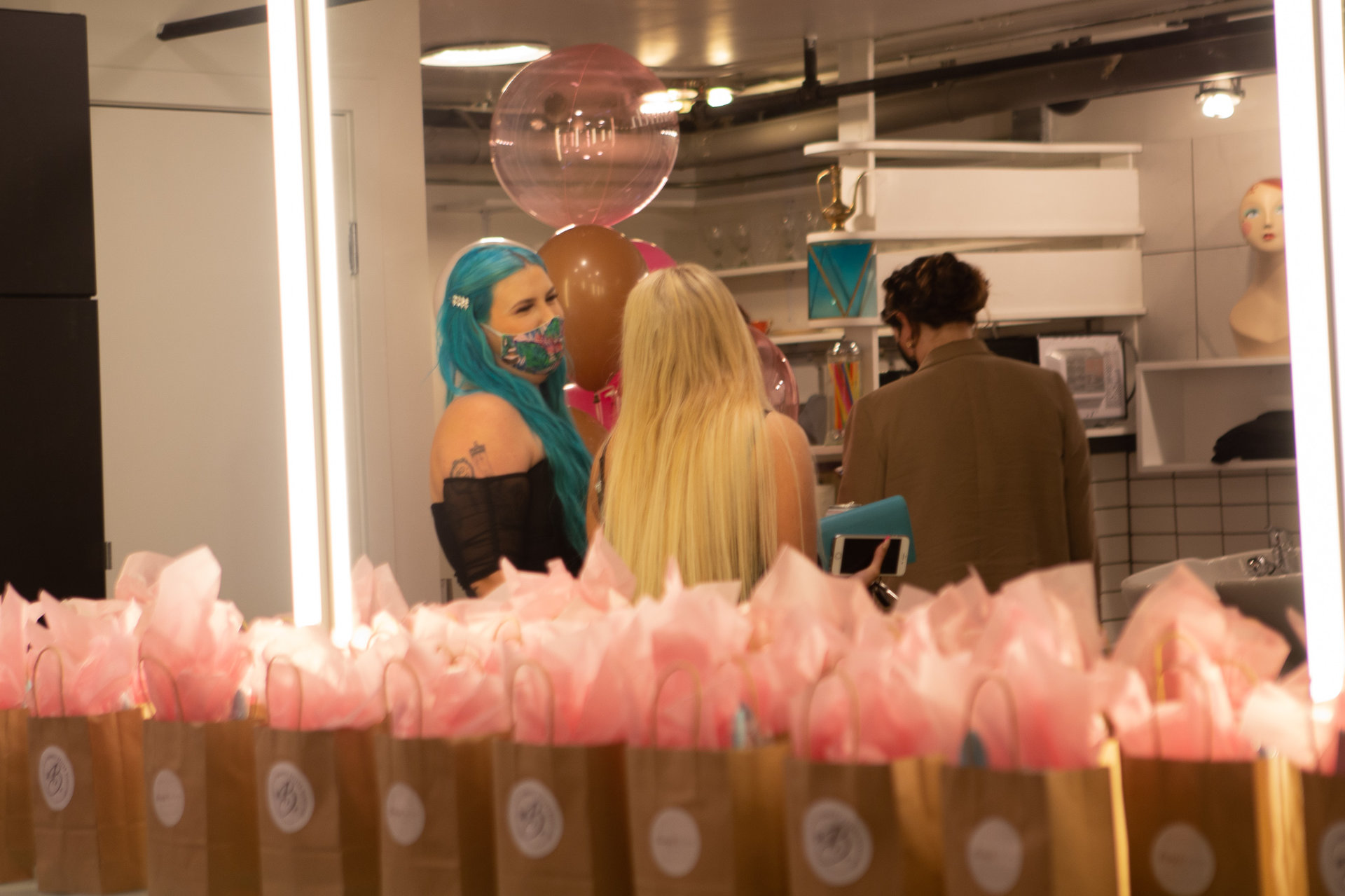 Gastown salon reopening event